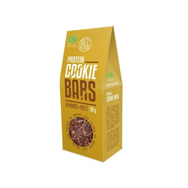 Barritas Vegana Protéica- chocolate y almendra