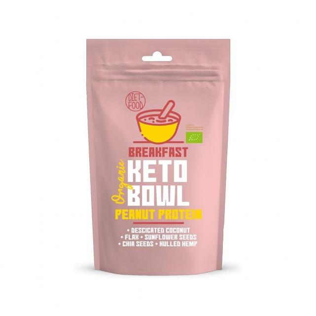 Bowl keto- proteína de cacahuete