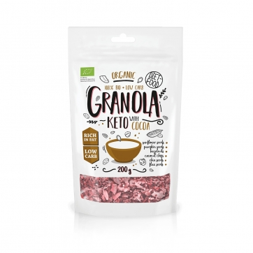 Keto granola bio- cacao