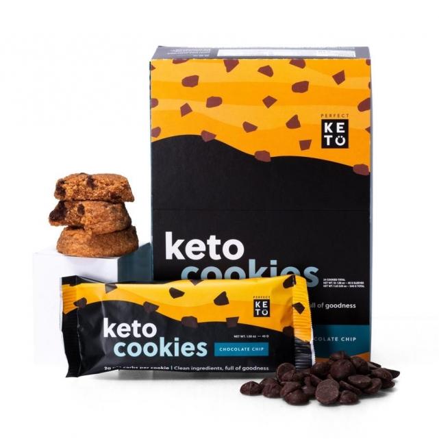 Cookies Keto chips de chocolate