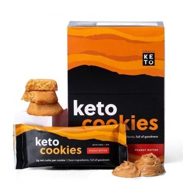 Cookies Keto mantequilla de cacahuetes